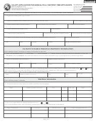State Form 53632 Form Cg-Apt - Application for Annual Pull Tab First Time Applicants - Indiana