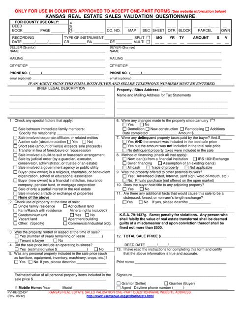 Form PV-RE-22-OP Printable Pdf