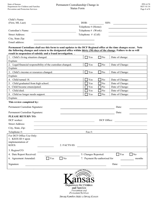 Form PPS6170  Printable Pdf
