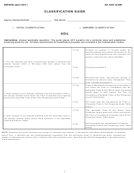 "Form DEP8056 ""Classification Guide"" - Kentucky"