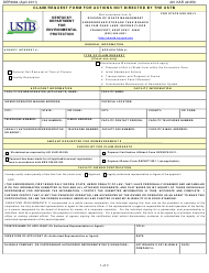 "Form DEP6064 ""Claim Request Form for Actions Not Directed by the Ustb"" - Kentucky"