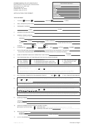 "Form ED-1 ""Permit Application Form"" - Kentucky"