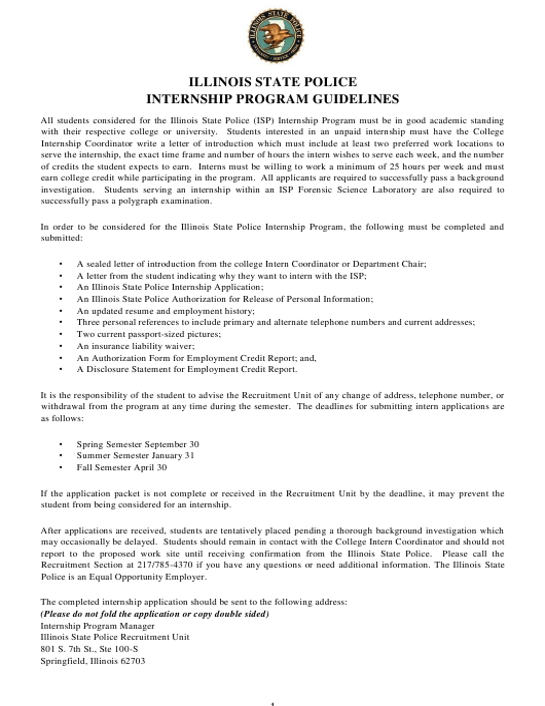 Form ISP 1-189 Fillable Pdf