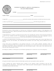 "Attachment C ""Consent to Medical, Dental and Surgical Invasive Procedures"" - Georgia (United States)"