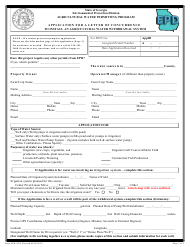 "Form EPD-APU ""Application for a Letter of Concurrence to Install an Agricultural Water Withdrawal System"" - Georgia (United States)"