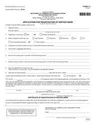 "Form T-3 ""Application for Registration of Service Mark"" - Hawaii"