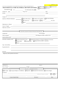 "Form MTRB CJC-2 ""Transmittal for Material Review/Testing"" - Hawaii"