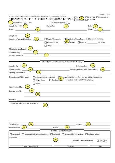 Form MTRB JC-1, MTRB CJC-2, MTRB VJC-3  Printable Pdf
