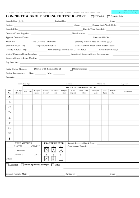 Form MTRB VJC-3A  Printable Pdf