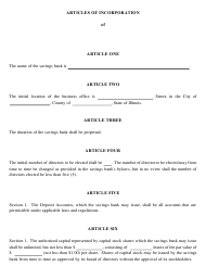 "Form IL581-0123 ""Articles of Incorporation"" - Illinois"