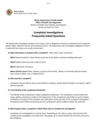 """""""Complaint Form"""" - Illinois, Page 4"""