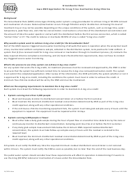 DNR Form 542-0356 Groundwater Rule: Iowa Dnr Application for 4-log Virus Inactivation Using Chlorine - Iowa