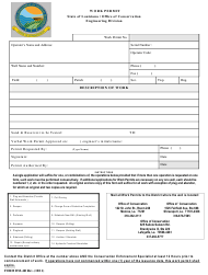 "Form DM-4R ""Work Permit"" - Louisiana"