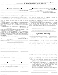 "Form MED-178 ""Sterilization Consent Form - Health First Colorado (Colorado's Medicaid Program)"" - Colorado"