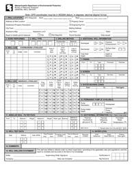 """General Well Report Form"" - Massachusetts"