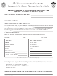 Massachusetts Department Of Fire Services Forms Pdf
