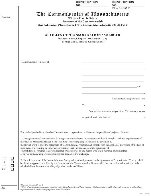 Form 18010AM  Printable Pdf