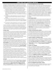 """Formulario FHR/MCO-PCCBH-SCO (SP) """"Formulario De Peticion De Audiencia Imparcial"""" - Massachusetts (Spanish)"""