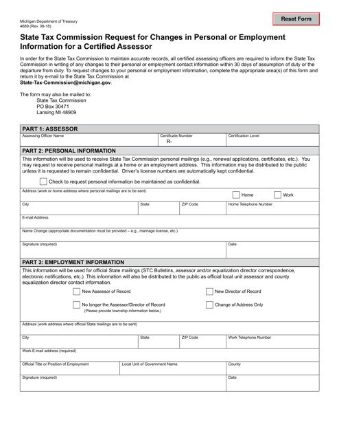 Form 4689 Fillable Pdf
