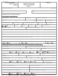 "Form FOC39 ""Friend of the Court Case Questionnaire"" - Michigan"