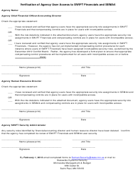 """Verification of Agency User Access to Swift Financials and Sema4"" - Minnesota"