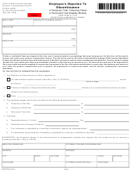 Form MN ED 02 Employee's Objection to Discontinuance - Minnesota