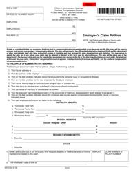"Form MN EC04 ""Employee's Claim Petition"" - Minnesota"