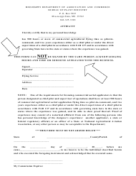 """Affidavit Form"" - Mississippi"