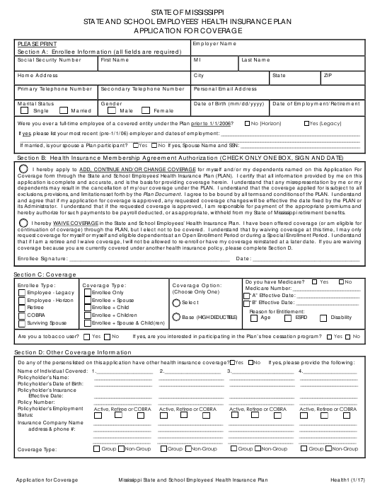Form Health1  Printable Pdf