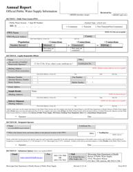 "Form 903E ""Annual Report"" - Mississippi"