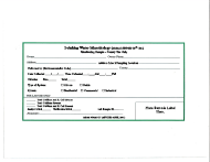 "Form 427 ""Drinking Water Microbiology Monitoring Sample Request Form"" - Mississippi"