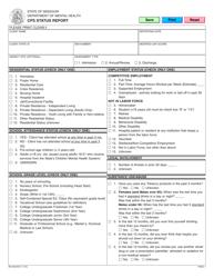 "Form MO650-8427 ""Cps Status Report"" - Missouri"