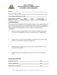 """Classification Request"" - Montana"