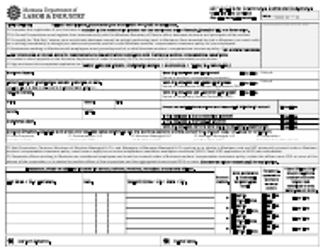 "Form DLI-ERD-WCR01 ""Application for Construction Contractor Registration"" - Montana"