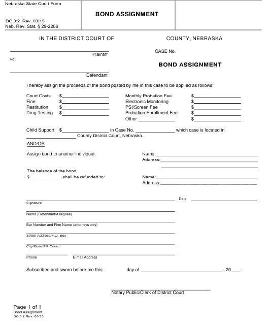 Form DC3:2  Printable Pdf