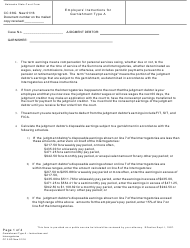 "Form CC3:8G ""Garnishment Type a - Instructions and Interrogatories"" - Nebraska"