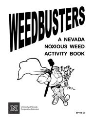 """Nevada Weed Busters Coloring Book - University of Nevada"" - Nevada"