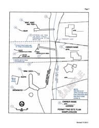 "Sample ""Permitting Site Plan"" - Nevada"