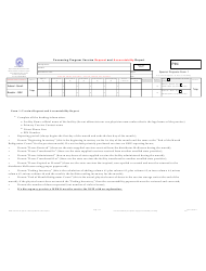 Form 1 Cocooning Program Vaccine Request and Accountability Report - Nevada