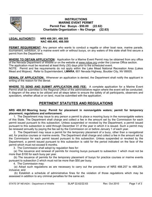 Form SLAP22.62/22.63 Printable Pdf