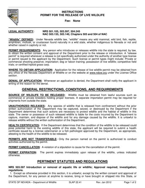 Form SLAP22.41  Printable Pdf