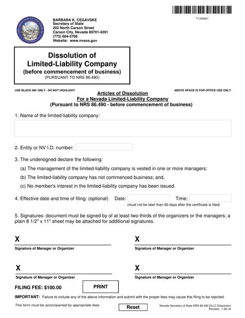 Form 130806  Printable Pdf
