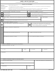 "DA Form 3685 ""JUMPS-JSS Pay Elections"""