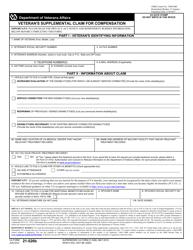 "VA Form 21-526B ""Veteran's Supplemental Claim for Compensation"""