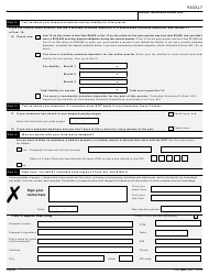 """IRS Form 941 """"Employer's Quarterly Federal Tax Return"""", Page 2"""