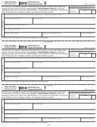 "IRS Form 1040-ES (NR) ""U.S. Estimated Tax for Nonresident Alien Individuals"", Page 11"