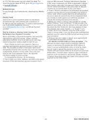 """IRS Form 1040-ES """"Estimated Tax for Individuals"""", Page 4"""