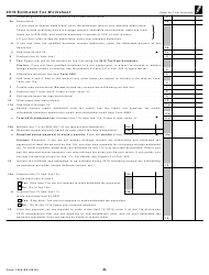 """IRS Form 1040-ES """"Estimated Tax for Individuals"""", Page 8"""