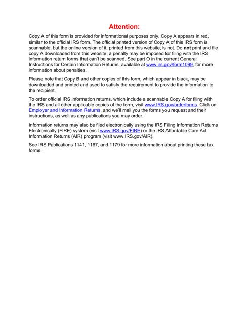 IRS Form 1098 2019 Fillable Pdf