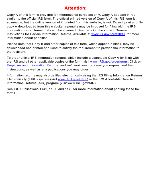 IRS Form 1098-E 2019 Printable Pdf